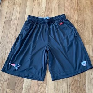 Authentic NFL Patriots Training Shorts by Nike
